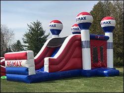 RE/MAX Bouncy Castle with Slide